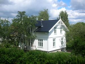 2009 - Huset ferdig restaurert