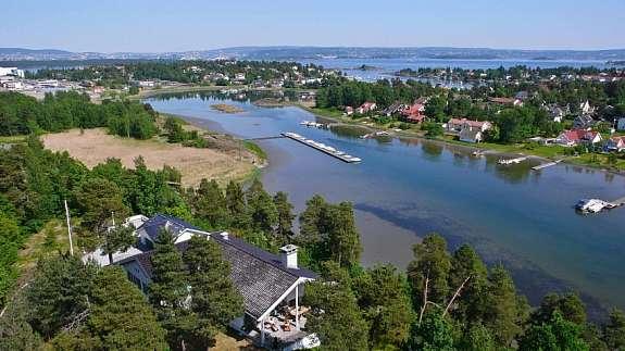Langodden - utsyn mot Oslo