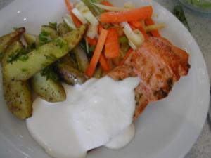 Godt og sundt på Hundsund skolerestaurant