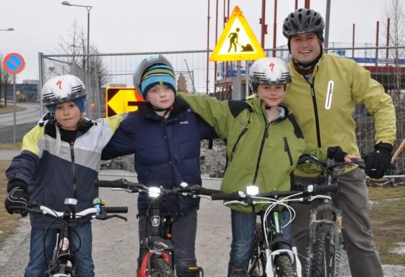 Vårfølelsen over alle - den første sykkelturen!