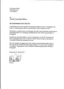 Snarøykilen Båthavn Revisor Rapport 2013