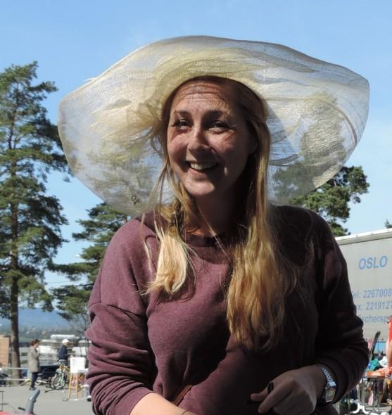 Vårens nye hatt ble funnet på Snarøya i helgen