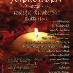 Årets julekonsert 2015 i Snarøya kirke