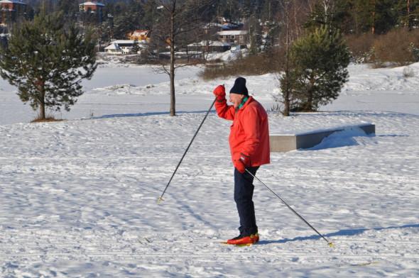 Det er hyggelig å se at skisporene blir satt pris på!