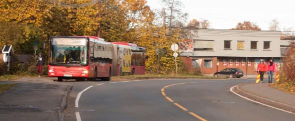Bussholdeplassen Bruksveien 25.10.2015. (4b)