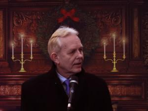 3. Varaordfører Ole Kristian Udnes avduker nye Fornebulandet menighet