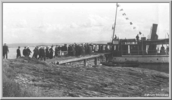 Halden Brygge - Pelvikodden 1915